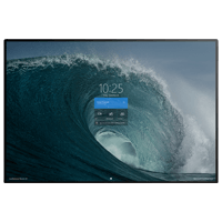 Surface Hub 2 vibrant display