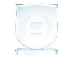Microsoft Worldwide Internet of Things Partner of the Year